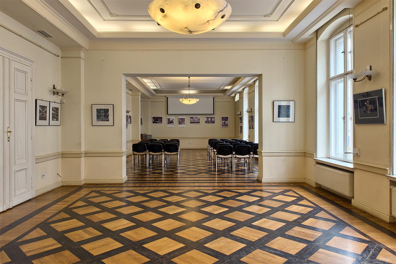 Salon Edyty, zdjęcie współczesne.
